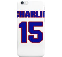 National baseball player Charlie Metro jersey 15 iPhone Case/Skin