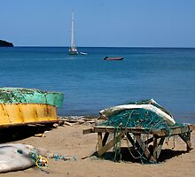 Boats and Nets by David Chappell