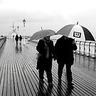 PENARTH PEIR IN THE RAIN 2 by kfbphoto