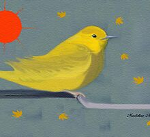 YELLOW WARBLER by Madeline M  Allen