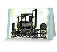 Industrial Revolution - Puffing Billy Greeting Card