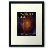 Howard Hill: Golden H e-book cover Framed Print