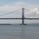 Forth Road Bridge, From South Queensferry, Scotland by christinawalker