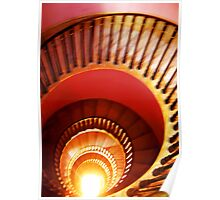 Sprial Staircase, BATH, ENGLAND Poster