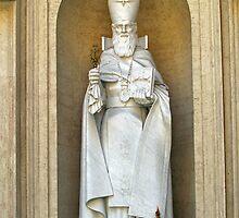 Vatican Statue Pope Gregororus by Memaa