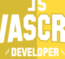 javascript developer Sticker