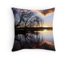 Mannum willows Throw Pillow