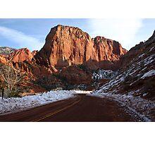 Kolob Canyons Photographic Print