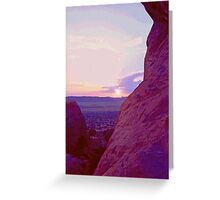 Southeastern Utah Sunset (3) Greeting Card
