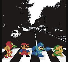 nintendo beatles by hazyceltics