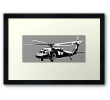 UH-60 Black Hawk Framed Print