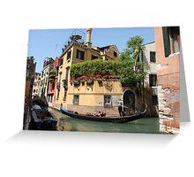 Venice corner Greeting Card