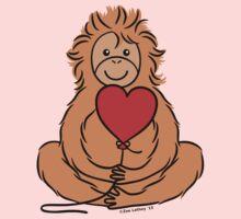 Lovable Orangutan Kids Clothes