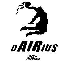 Darius get dunked Photographic Print