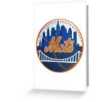 Meet The Mets Greeting Card
