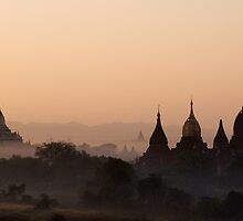Morning in Bagan 2. by DaveBassett