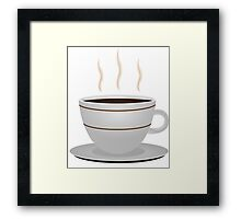 Cup of coffee 2 Framed Print