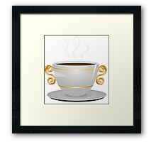 Cup of coffee 3 Framed Print