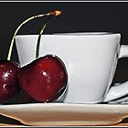 Cherry Tea by Angel Warda