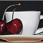 Cherry Tea by Angel Warda