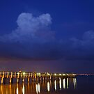 Evening At The Pier by MMerritt