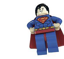 Lego Superman by Veer Chidar