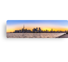 Toronto Skyline 5 Canvas Print