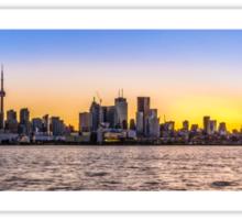 Toronto Skyline 5 Sticker