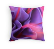 Cloaked In Purple Throw Pillow