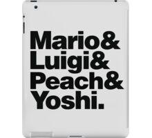 Super Mario & Friends iPad Case/Skin