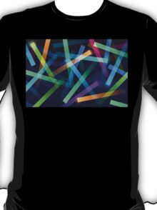 Glowing color sticks T-Shirt