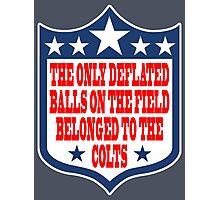 Go Ahead, Weigh My Balls - Patriots #deflategate Photographic Print