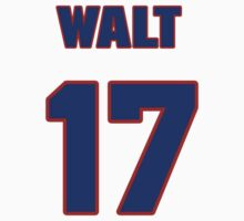 National baseball player Walt Weiss jersey 17 by imsport