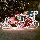 Santa's Sleigh by christinawalker