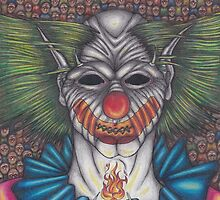 Demonic Clown by Mark Frye