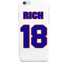 National baseball player Rich Becker jersey 18 iPhone Case/Skin