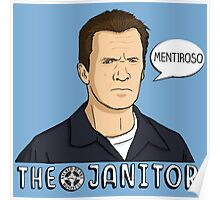 The janitor Poster