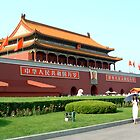 Tiananmen Gate by ozecard
