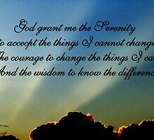 THE SERENITY PRAYER by Madeline M  Allen