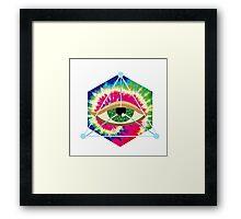 Third eye Framed Print