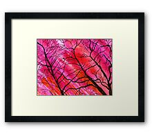 As Pinkish Sunset Can Be Framed Print
