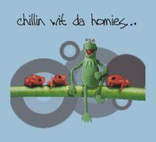 Kermit n da homies... by branmattic