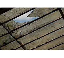 sky breaks through Photographic Print