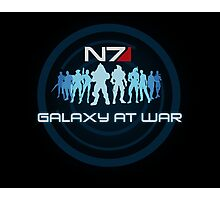 Mass Effect - Galaxy At War Photographic Print