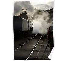 Early Morning at Grosmont Poster
