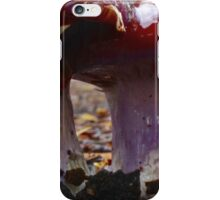 Mushroom stems up close and personal iPhone Case/Skin