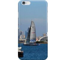 San Diego Bay ~ View From Shelter Island iPhone Case/Skin