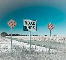 Route 66 - End of the Road! Route 66 by Alan Copson