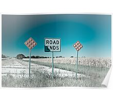 Route 66 - End of the Road! Route 66 Poster