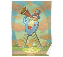 Megaphone Man Poster